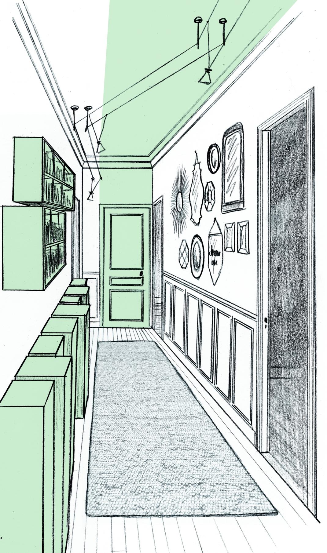 1 appartement st mand laetitia desmond d coratrice d - Dessin sombre ...