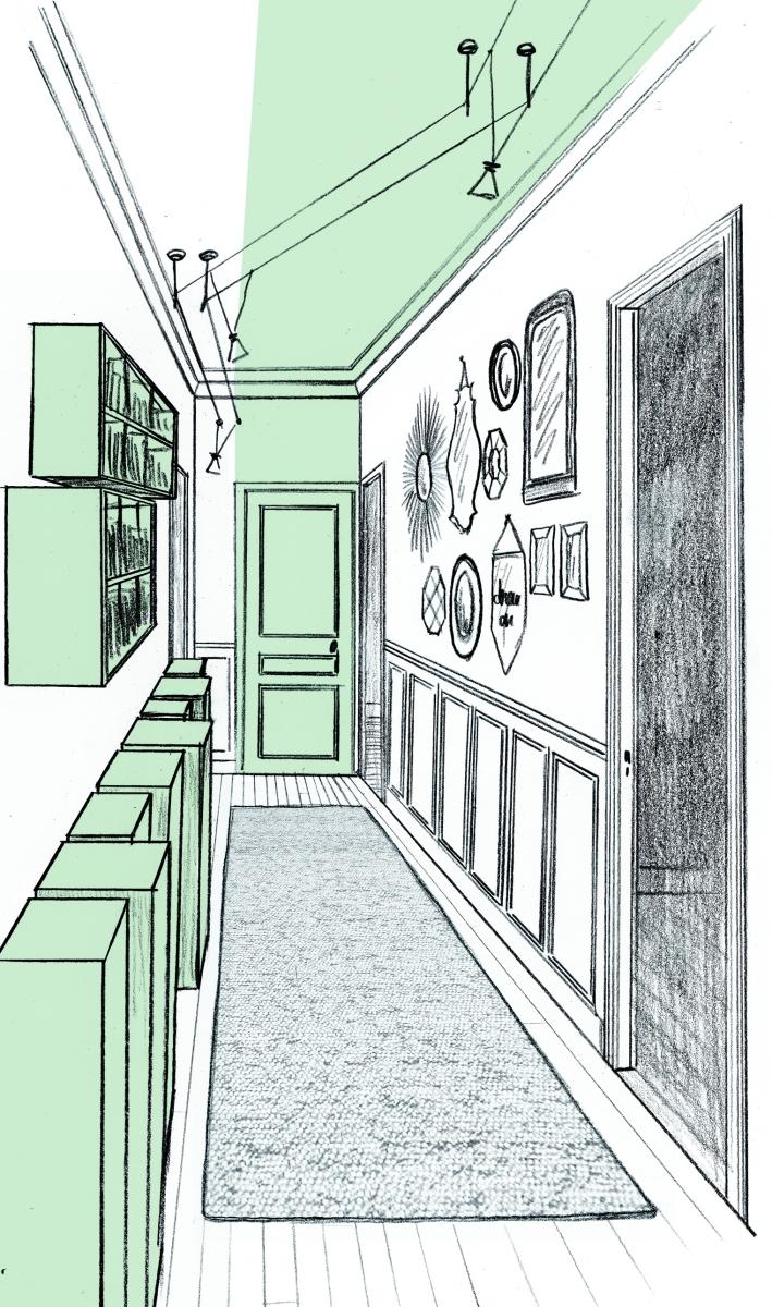 1 appartement st mand laetitia desmond d coratrice d 39 in rieur for Couloir appartement